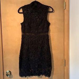BARDOT SHEATH DRESS IN BLACK